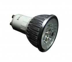 LED Strahler GU10 3x1W Power LED Spot Leuchtmittel Warmweiß