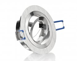 E4428-0R Aluminium Einbaustrahler Rund Bicolor schwenkbar 12V/230V