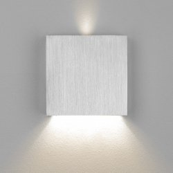 LED Wand- Treppenleuchte Aluminium Stufenbeleuchtung 230V dezent indirekt 1,5W warmweiß