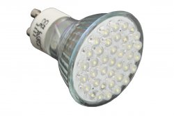 LED GU10 Strahler 2W Lampe Warmweiß dezent 90 LM