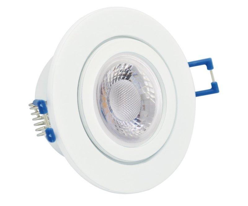 230V Innen /& Aussen LED Einbauleuchten IP20 K5402 GU10 5W = 50W SMD-LED-Strahler