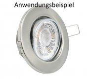 LED 5W Strahler Lampe Warmweiß dimmbar 23mm flach