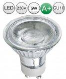 LED UP&Down Wandleuchten IP54 Aluminium gebürstet 2x GU10 5W