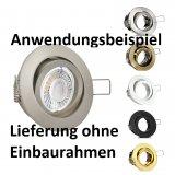 LED Spot Strahler 5W Modul Daylight/Neutralweiß 50mm dimmbar 25mm flach 4000K