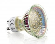LED GU10 Strahler Lampe Kaltweiß 230V 1,2W dezent