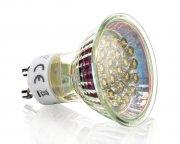 LED GU10 Spot Strahler 1,2W Warmweiß 50lm dezent